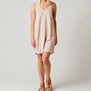 Buckle White Crow Faux Suede Dress M